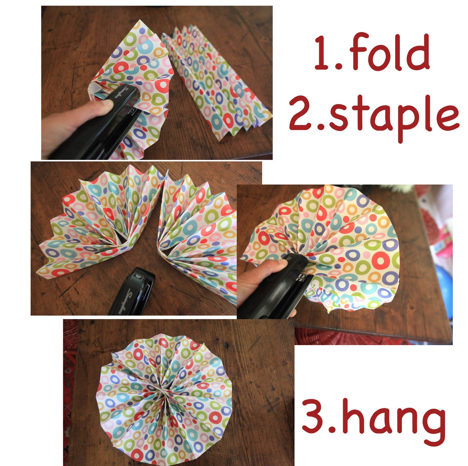 Craft Corner: decorating with paper fans – Ramblings From Utopia
